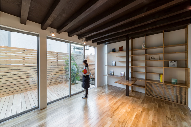 築●年。新旧の融合した木造戸住宅リノベーション
